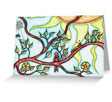 Life in the branches Greeting Card