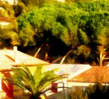 Arzachena: landscape Sticker