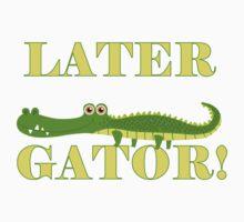 Wild Animals Later Gator Alligator One Piece - Short Sleeve