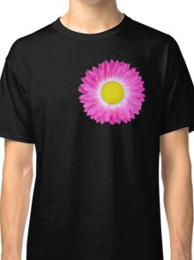 Pink and Yellow Daisy Classic T-Shirt