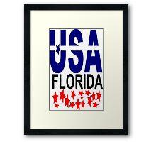 FLORIDA Framed Print