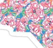 North Carolina Outline - Lilly Pulitzer Sticker