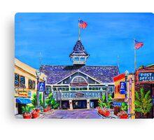 Balboa Pavilion Newport Beach Ca. Canvas Print