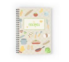 My Recipes Spiral Notebook