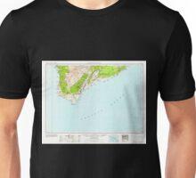 USGS TOPO Map Hawaii HI Hawaii South 349925 1962 250000 Unisex T-Shirt