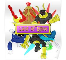 Lord of Djinn group pose Poster