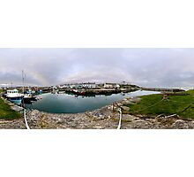 Hurry Head Harbour, Carnlough, County Antrim Photographic Print