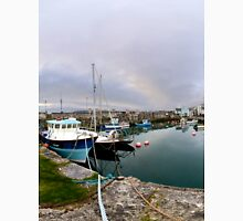 Hurry Head Harbour, Carnlough, County Antrim Unisex T-Shirt