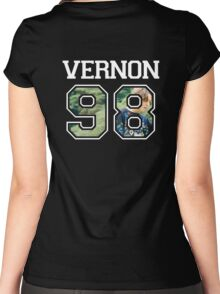 SEVENTEEN - Vernon 98 Women's Fitted Scoop T-Shirt
