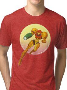Samus Aran - Metroid Tri-blend T-Shirt