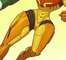 Samus Aran - Metroid Sticker