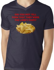 The Lord's Chips Mens V-Neck T-Shirt