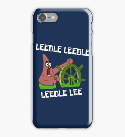 Leedle Leedle Leedle Lee - Spongebob iPhone Case/Skin