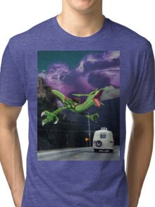 Rayquaza in the Valleys Tri-blend T-Shirt