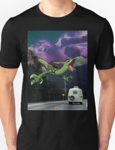 Rayquaza in the Valleys Unisex T-Shirt