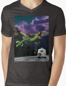 Rayquaza in the Valleys Mens V-Neck T-Shirt