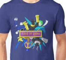 Lord of Djinn Blue Team Unisex T-Shirt