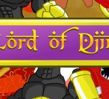 Lord of Djinn Red Team Sticker
