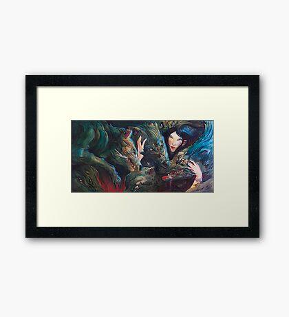 Closing In Framed Print