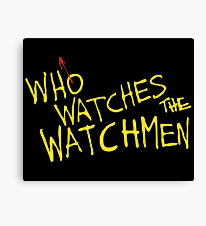 Who Watches? Canvas Print