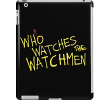 Who Watches? iPad Case/Skin