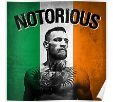 Notorious - Tricolour Face Poster