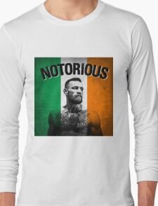 Notorious - Tricolour Face Long Sleeve T-Shirt