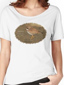 Bird Book Apparel - Semipalmated Plover Women's Relaxed Fit T-Shirt