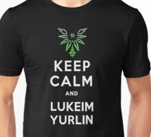 Keep Calm and Lukeim Yurlin Unisex T-Shirt