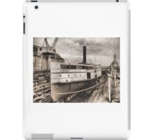 History in the Docks iPad Case/Skin