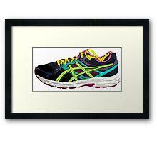 Running on Empty Framed Print