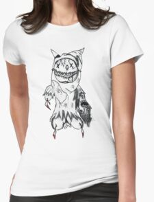 Masked Womens Fitted T-Shirt
