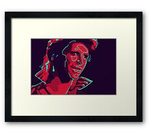 Ziggy Stardust Framed Print