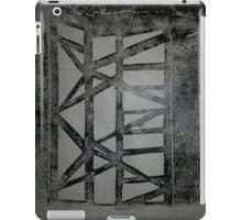 Scaffolding print iPad Case/Skin