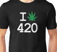 I love 420 Unisex T-Shirt