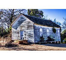 Old School House Photographic Print