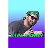 Vape Nation Photographic Print