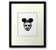"""Walt"" White / Disney Framed Print"