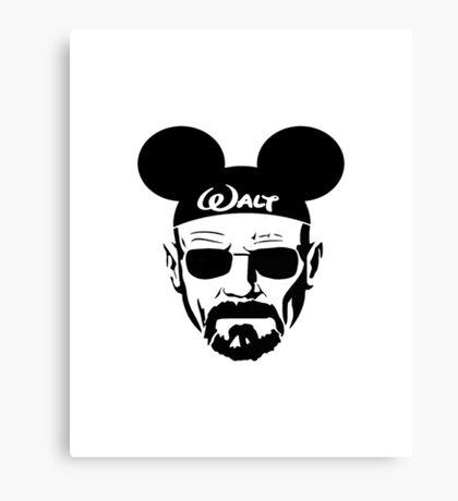 """Walt"" White / Disney Canvas Print"