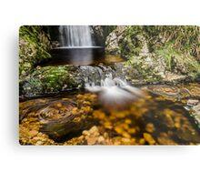 Glenevin Waterfall  Metal Print
