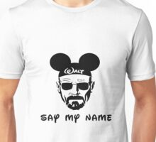 Walter White Say My Name Unisex T-Shirt