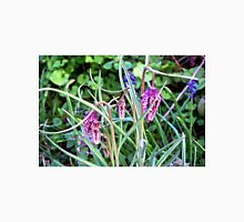 Mystery Wild flowers Purple pattern Nature walk  Unisex T-Shirt