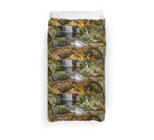 Glenevin Waterfall  Duvet Cover