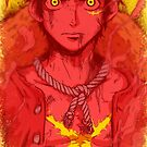 One Piece - Luffy with name only by Sven from OZ