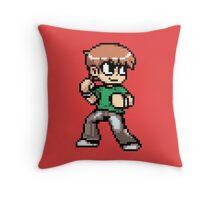 Scott Pilgrim 8-bit art Throw Pillow