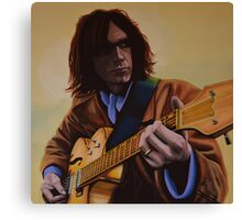 Neil Young Painting Canvas Print