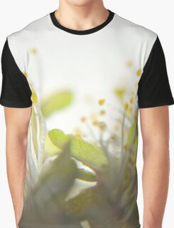 Abstract Filament Graphic T-Shirt