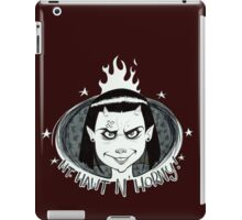 Mt Hawt n' Horny Team Logo iPad Case/Skin