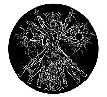 Vitruvian Coupling Dark Photographic Print