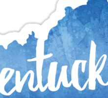 Kentucky - Watercolor Outline Sticker